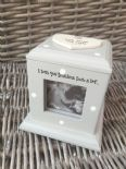 Shabby Chic Style Personalised Gift Photo Cube Box Special Nana Grandma Nanny